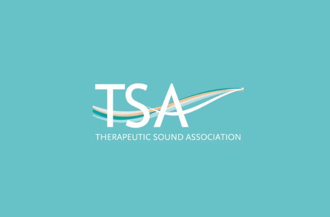 therapeutic sound association coloured logo